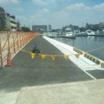 桟橋側防波堤へ車を入れられる方